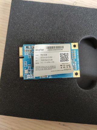 Disco duro SSD msata de 32GB