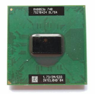 Procesador Intel Pentium M740.