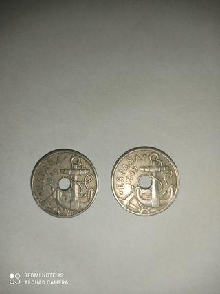 monedas España 1949 50 céntimos