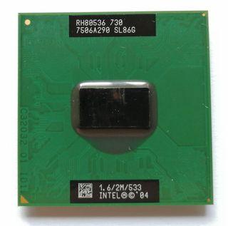 Procesador Intel Pentium M730.