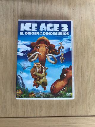 Dvd Ice Age 3 el origen de los dinosaurios