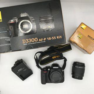 Cámara Nikon D3300 Como Nueva (Solo 1112 fotos)