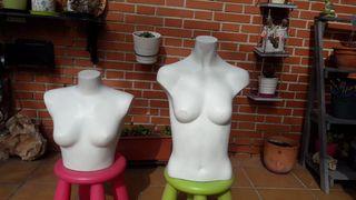 Maniquíes bustos de mujer