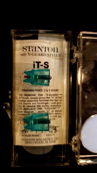 Aguja STANTON iT-S para tocadiscos