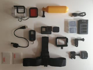 Gopro Hero 5 Black + Kit extras muy completo