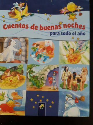 libro infantil lleno de cortos cuentos