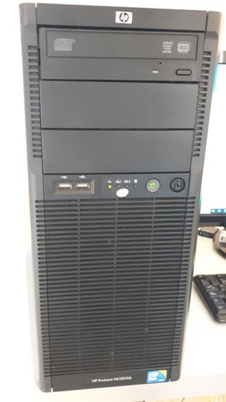 Servidor torre workstation HP Proliant ML150G6