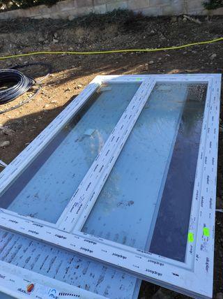ventanas PVC nuevas oscilobatientes