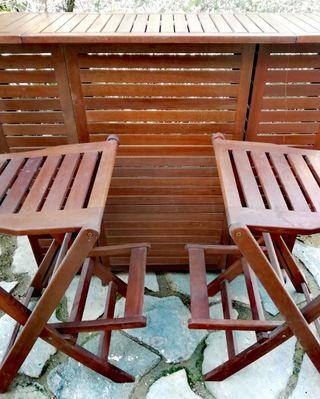 #Bar #Sillas #madera #Terraza #Jardin