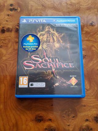 Soul Sacrifice psvita+ código plus 30 días gratis.