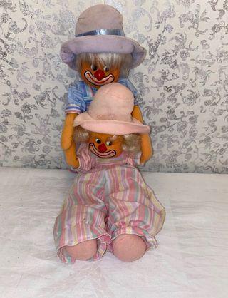 Muñecos de payaso