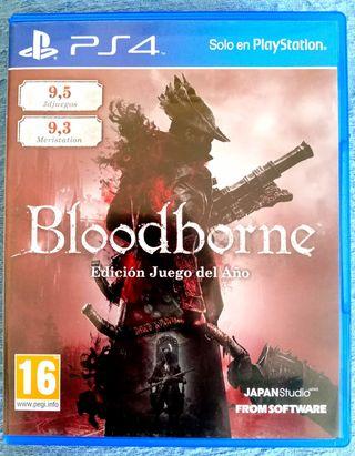 Bloodborne Edición Juego del Año GOTY PS4
