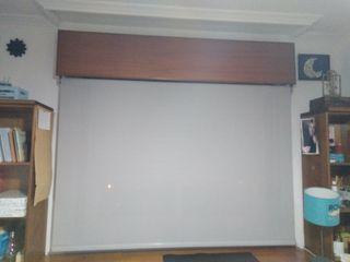 Estor enrollable Screen Industry gris de 180x250