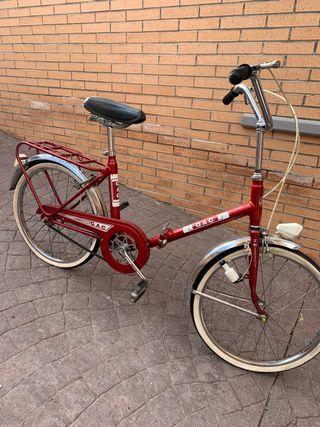 Bicicleta GAC vintage plegable
