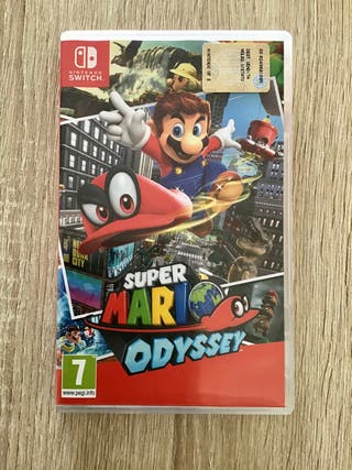 Super Mario Odissey. Juego Nintendo Switch