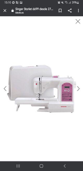 Vendo maquina de coser sinnger starlet