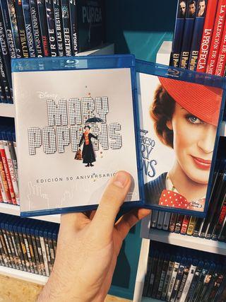Mary Poppins 1 y 2 Bluray