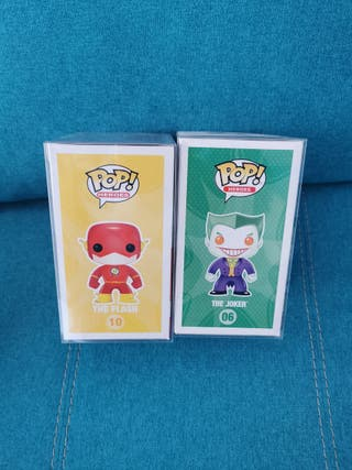 Funko pop Joker chase y Flash chase