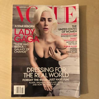 Lady gaga vogue 2019 revista usa