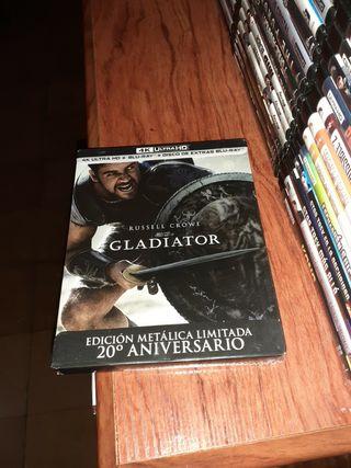 bluray.Gladiator Steelbook 4k nueva