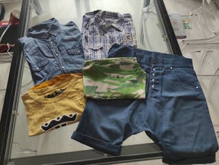 talla L- XL 5 prendas de ropa G STAR PULL&BEAR