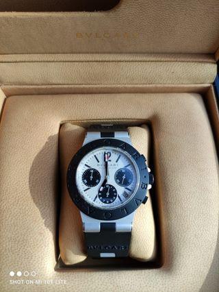 Bvlgari aluminium Diagono 40mm Bulgari reloj