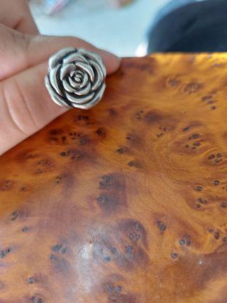 anillo de mujer de plata perfecto estado