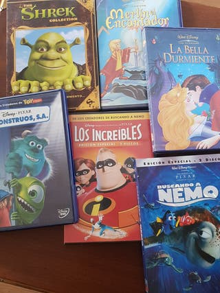 Pack CDs Peliculas Disney + Pixar + Dreamworks