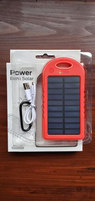 Batería SOLAR Externa Portátil 4000mAh