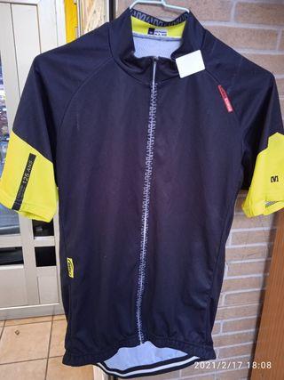 Maillot Rosso Corsa M Mavic bicicleta