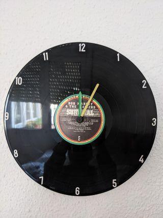 Reloj Vinilo Bob Marley