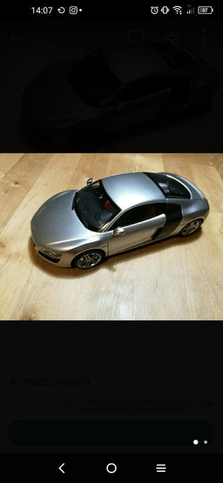 maqueta Audi R8