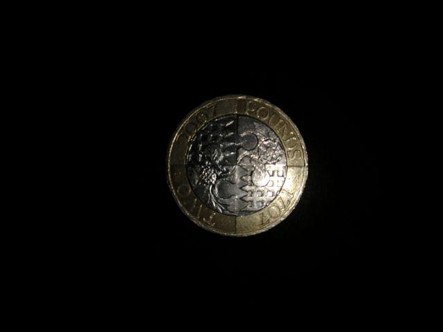 Rare £2 2007 1707