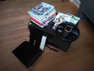 Nintendo Wii + juegos (Sports, MarioKart etc)
