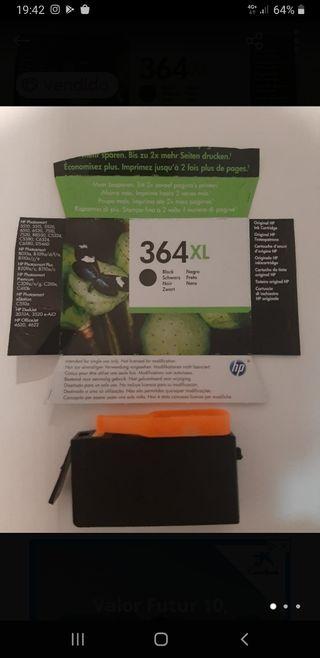 cartucho HP 364XL negro nuevo