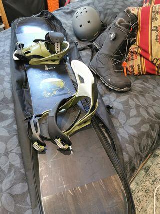 Snowboard Burton Tabla Fijacion Botas 44.5