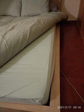 colchón visco