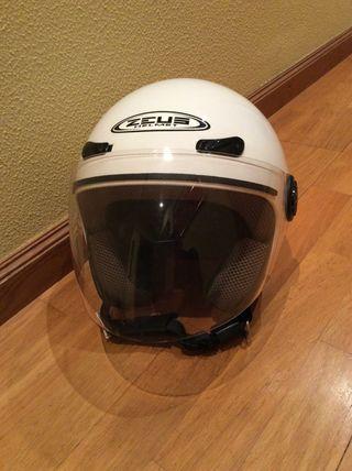 casco de moto zeus (jet/calimero)