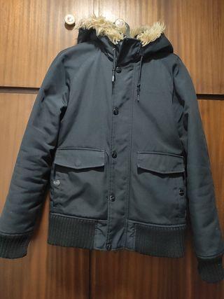chaquetón negro de Carhartt
