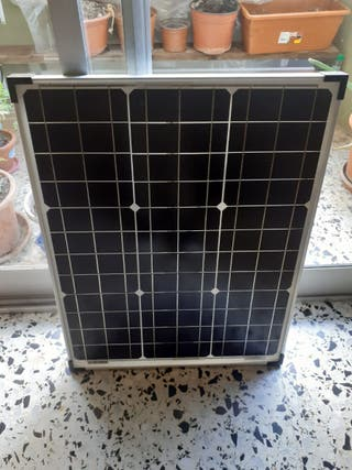 Placa solar de 50w.