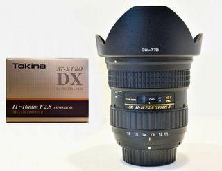 Tokina AT-X PRO II 116 11-16mm f/2.8 DX AF Nikon
