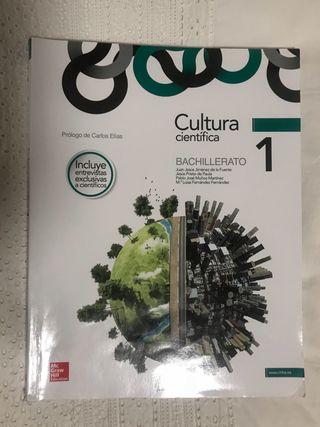 Libro de texto Cultura Científica 1°Bachillerato
