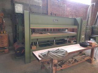prensa de platos hidráulica