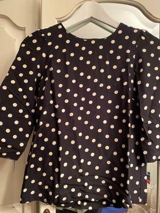 Camiseta topitos Zara