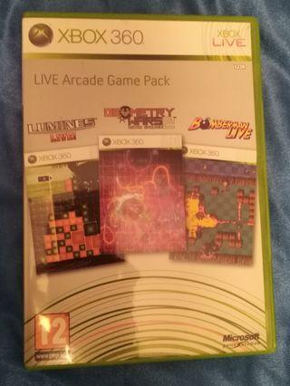 3 videojuegos Xbox 360