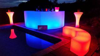 Mubles para montar una discoteca en tu jardin