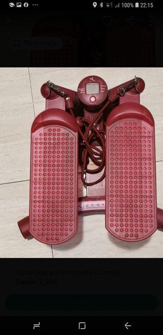 pedales para hacer ejercicio tiene gomas para fort