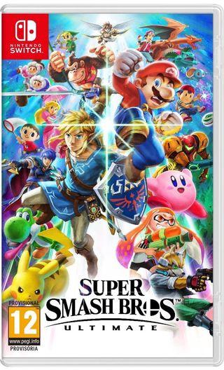 Super Smash Bros Ultimate juego nintendo switch