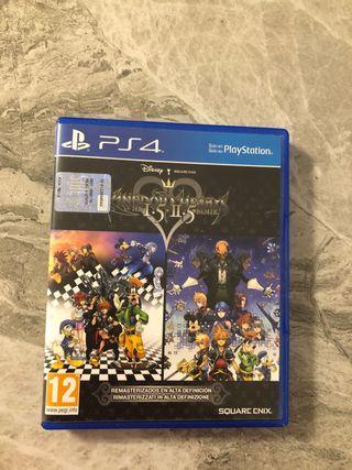 Kingdom Hearts 1.5 2.5 HD PS4