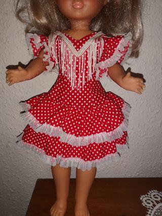 Vestido años 70 Nancy flamenca gitana.